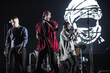 Young Fathers - Massive Attack - Geox, Padova, 14 febbraio 2016